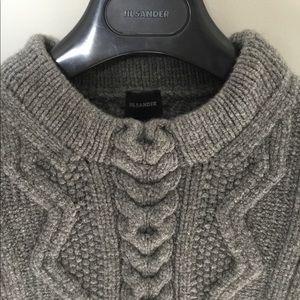 Jil Sander Cashmere Cable Knit Sweater